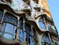 Casa Battlo church in Barcelona
