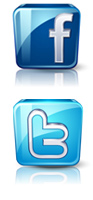 Top Travel social media buttons