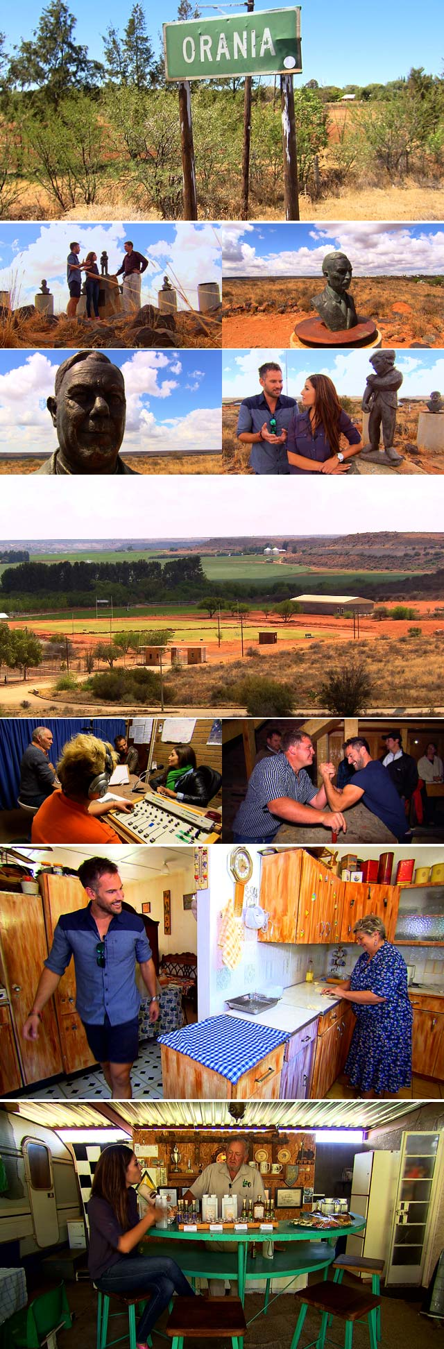 Top Travel visits Orania