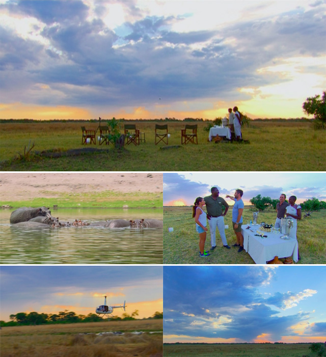 Top Travel visits Botswana