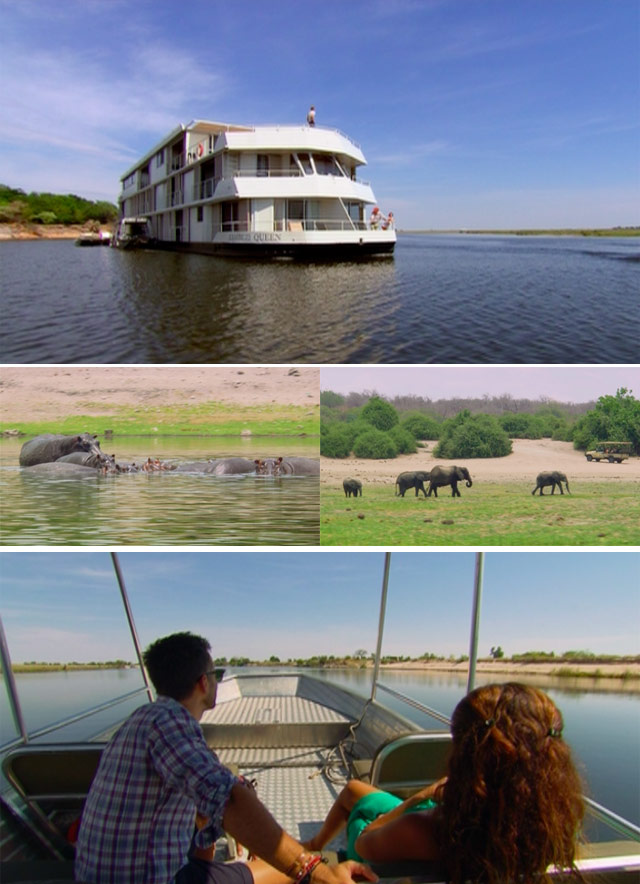 Top Travel take a trip on the Zambezi Queen