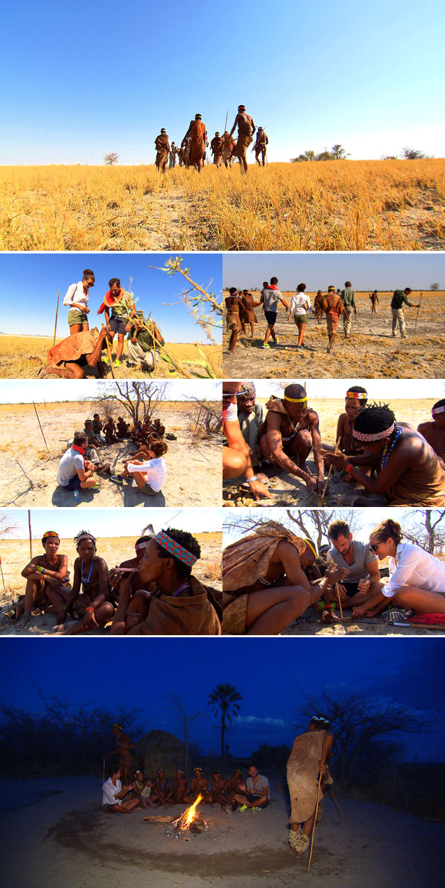Top Travel meets the San People