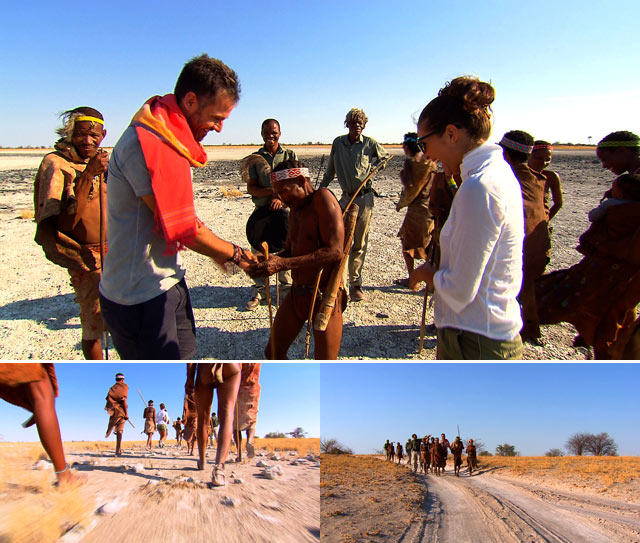 Top Travel meets the San People of the Kalahari