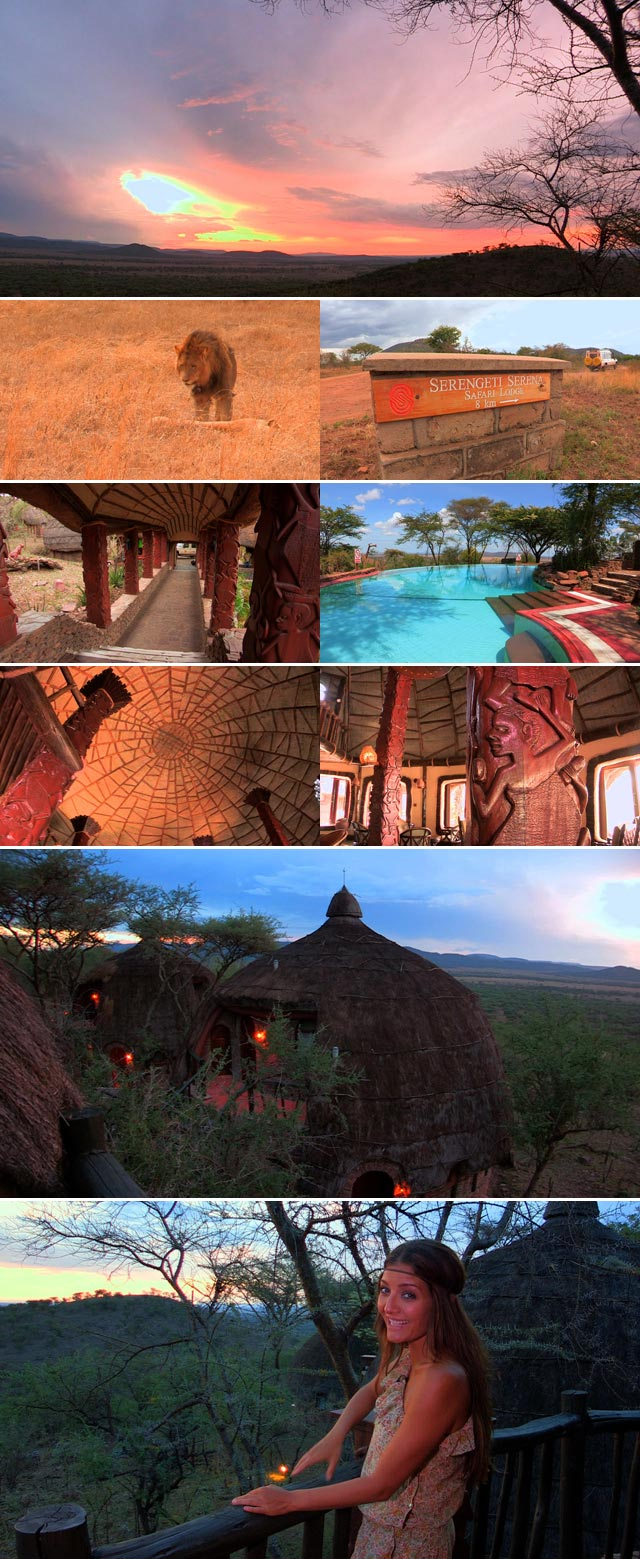 Top Travel visits the Serengeti Serena Safari Lodge
