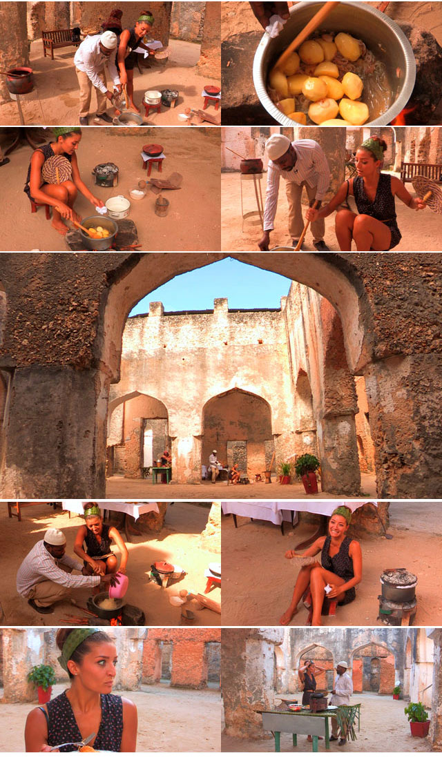 Top Travel has a cooking lesson in Zanzibar