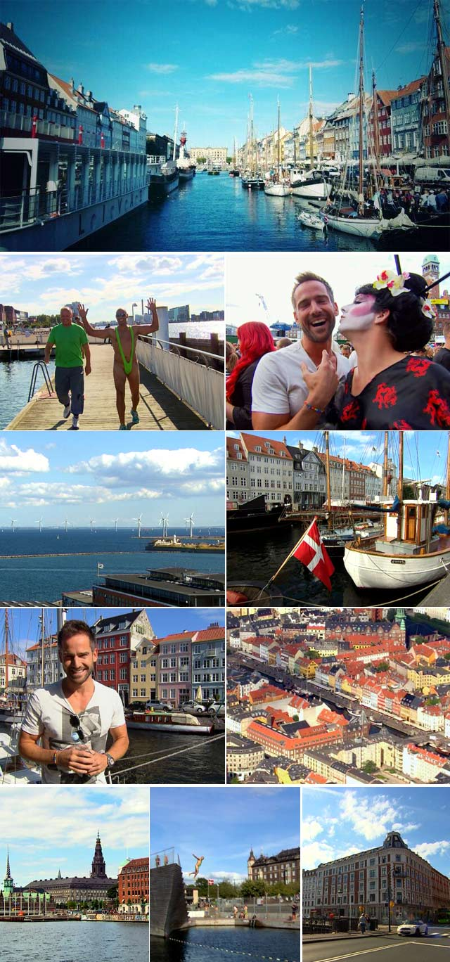 Guided tours through Copenhagen