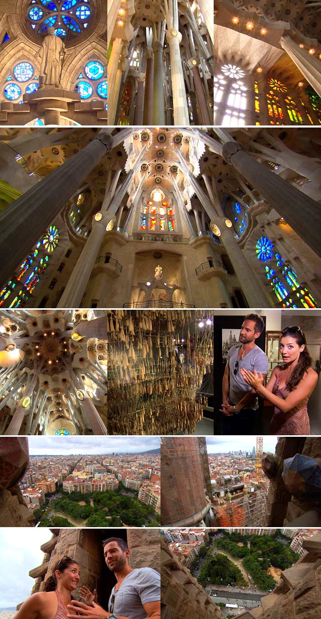 Sagrada Familia church in Barcelona 2