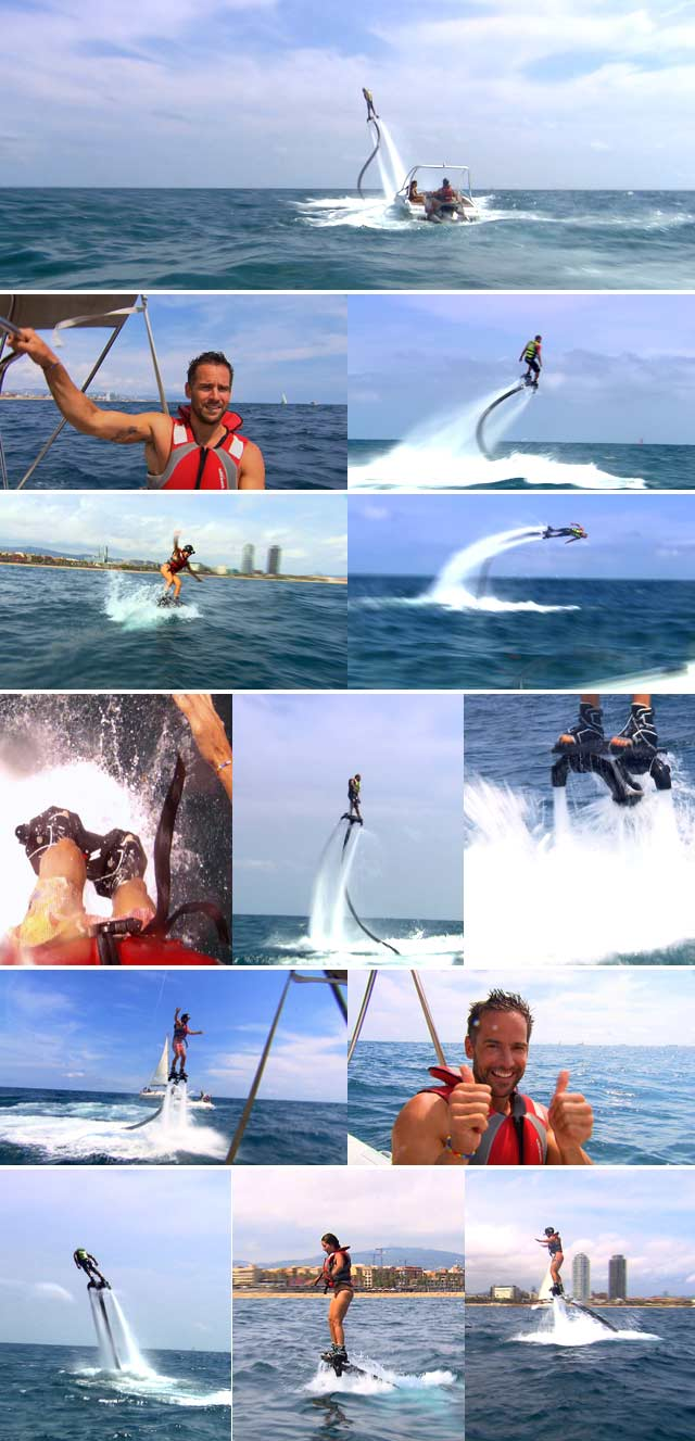 Top Travel goes flyboarding